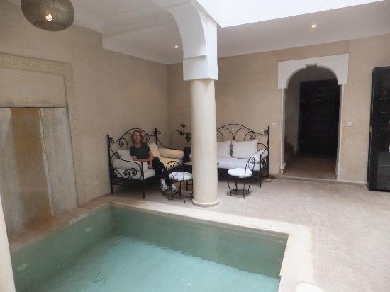 Riad Al Badia: Sitting area