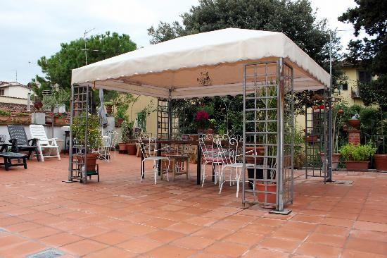 Hotel Il Bargellino: Terrace