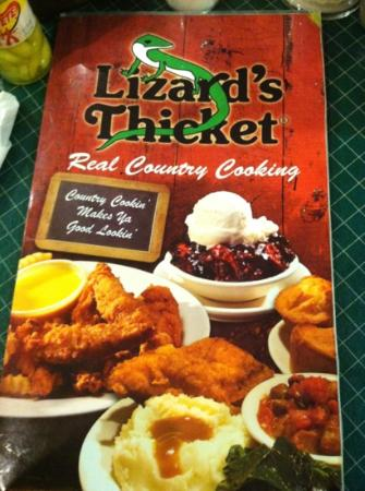Lizard's Thicket Restaurant