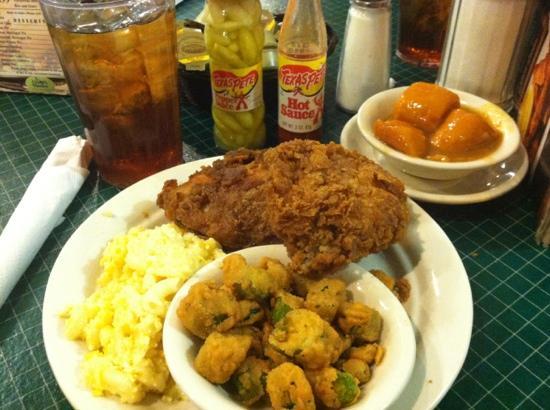 Lizard's Thicket Restaurant: best kept secret