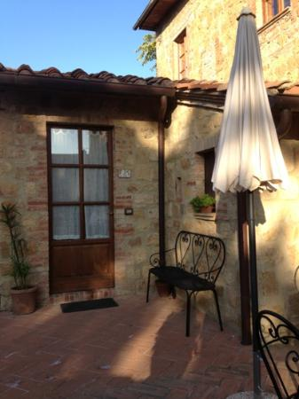 Podere San Gregorio: one of the 3 apartments