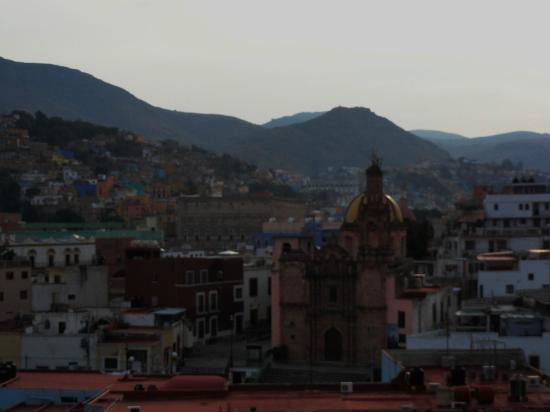 Meson de la Fragua: Desde el balcon de mi habitacion