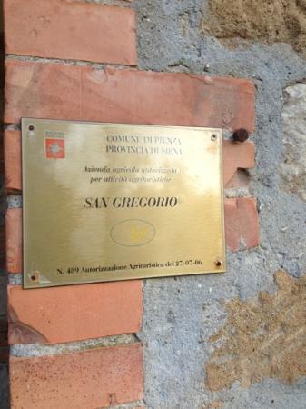 Podere San Gregorio,a paradise