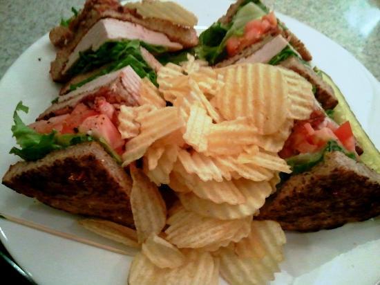 Starlite Diner & Lounge: My club sandwich