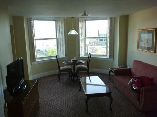 Boston Hotel Buckminster: Living Room