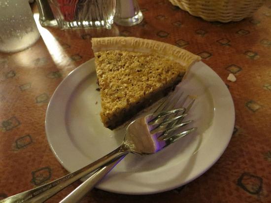 Sahara Steak House: Derby pie - delish!