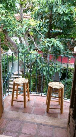 Posada Casa Sol: Vista desde el balcón
