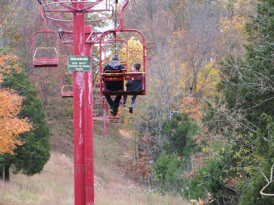 Kentucky Action Park: Chairlift
