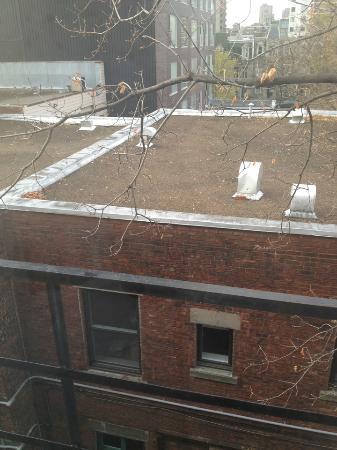 La Residence Du Voyageur: Vue du balcon