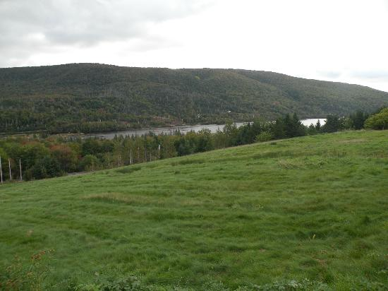 Chanterelle Inn & Cottages: View from the gounds to lake