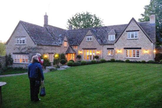 Box Tree Cottage: Returning to this Lovely Property on a Spring Evening.