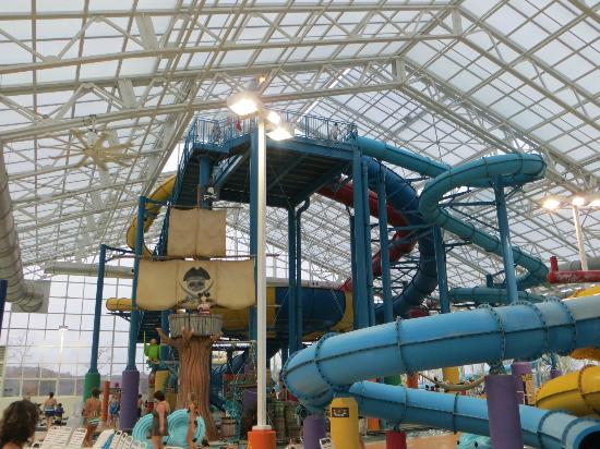 French Lick, IN : tube slides