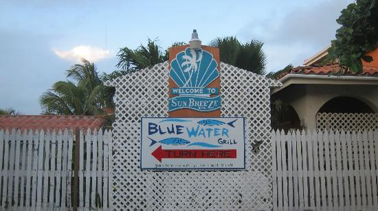 SunBreeze Hotel: Sign from tlhe Beach side