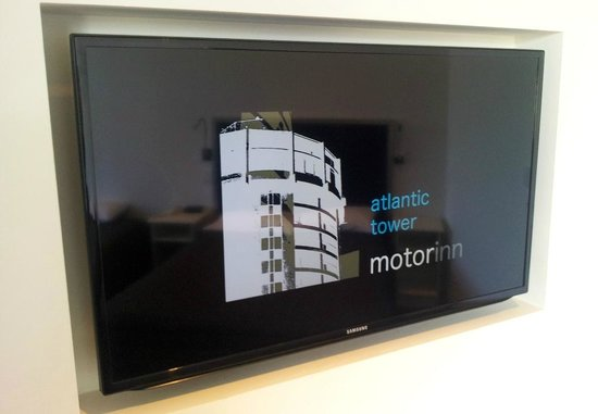 "Atlantic Tower Motor Inn: All rooms have 40"" TV's"