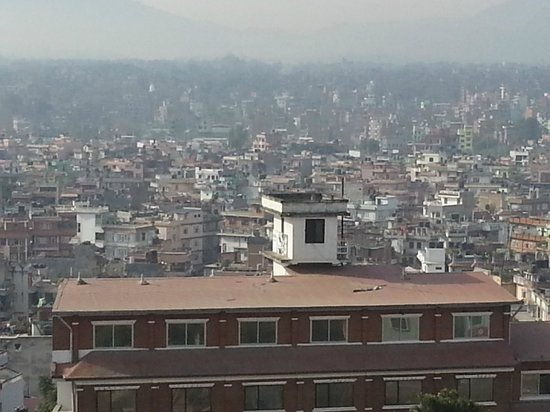 The Everest Hotel: View of the City from Room