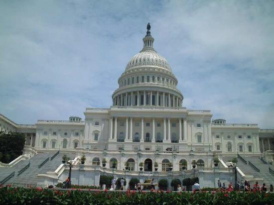 Capitol Hill: 目の前にて