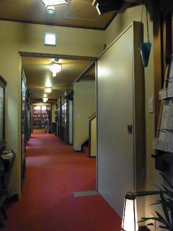 Oyado Yamakyu : aisle on first floor