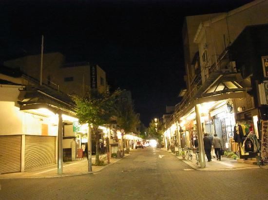 Oyado Yamakyu : shoplots on the new side of town - 10 minutes' walk