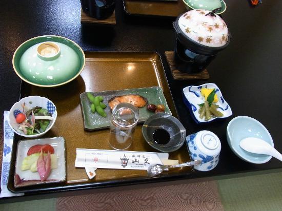 Oyado Yamakyu: dinner, served - dishes just keep coming 