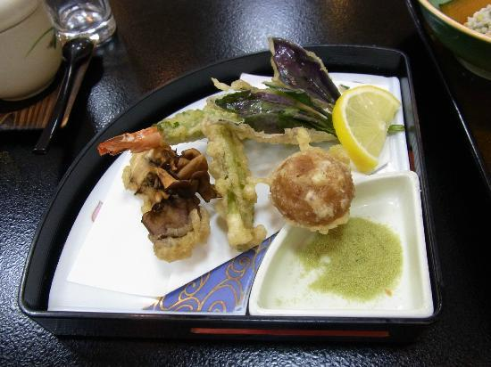 Oyado Yamakyu: vegetables tempura
