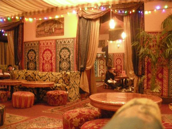 Nice decor picture of marrakesh moroccan restaurant