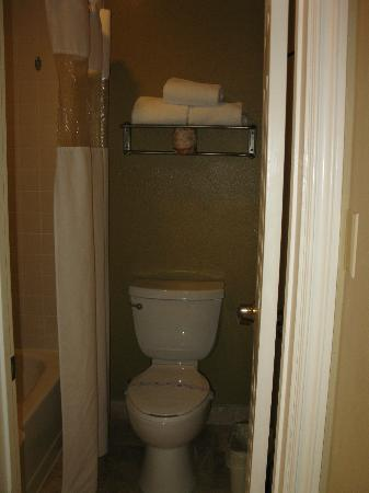 BEST WESTERN Plus Meridian Inn & Suites, Anaheim-Orange: Bathroom has tub and toilet
