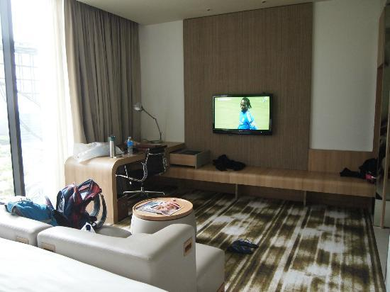 Crowne Plaza Changi Airport: TV
