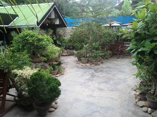 Aquarius Inn: Guesthouse main area