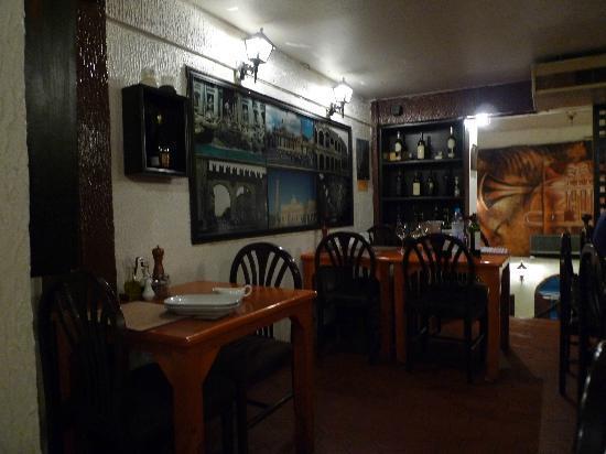 La Buca: Interior of LaBuca