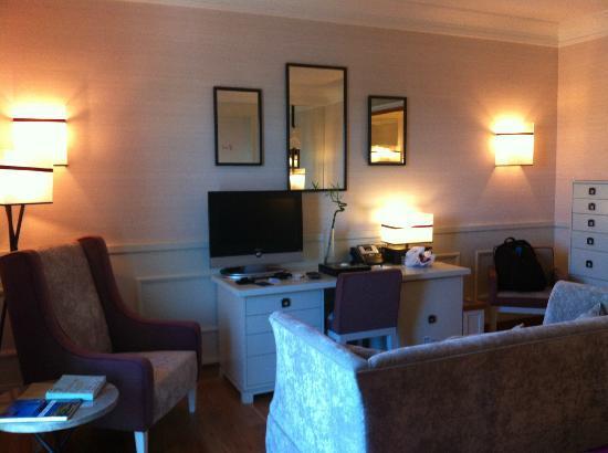 Grande Real Villa Italia Hotel & Spa: Study