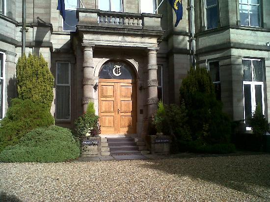 Tre-Ysgawen Hall, Country House Hotel and Spa: The first sign of history
