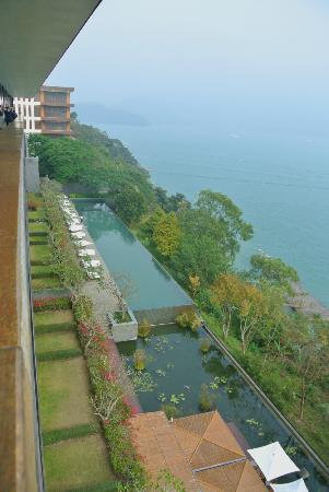 The Lalu Sun Moon Lake: view from the top floor