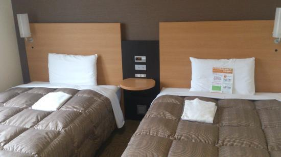 Comfort Hotel Naha Prefectural Office: シーツも清潔