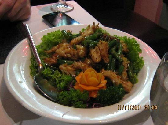 Red Elephant: Stir Fried Squid with Black Pepper