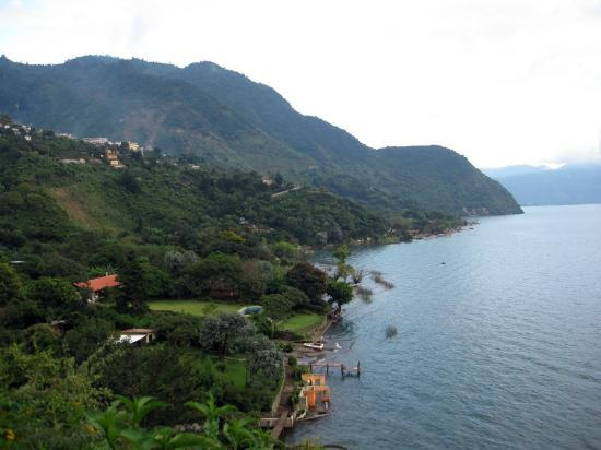 Voltan Adventures : Lake Atitlan From Our Hike.