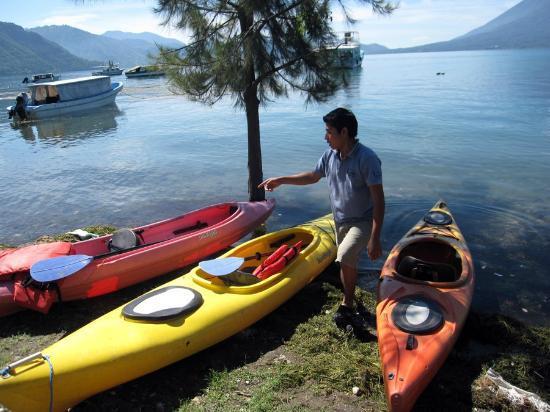 Voltan Adventures : Lake Atitlan Kayak Adventure.