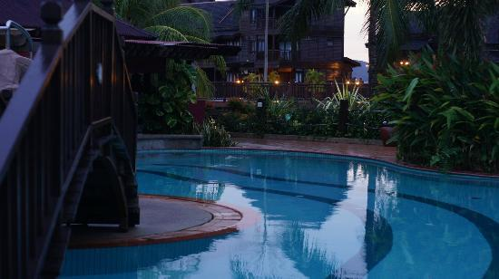 Langkawi Lagoon Resort: The pool (bliss)
