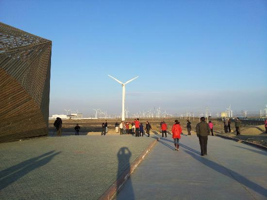 Dabancheng Wind Power Station: popular photo stop