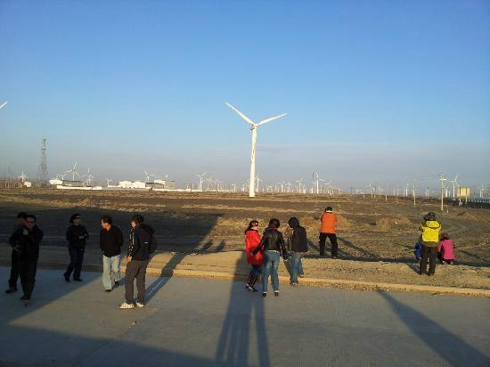 Dabancheng Wind Power Station: wind farming