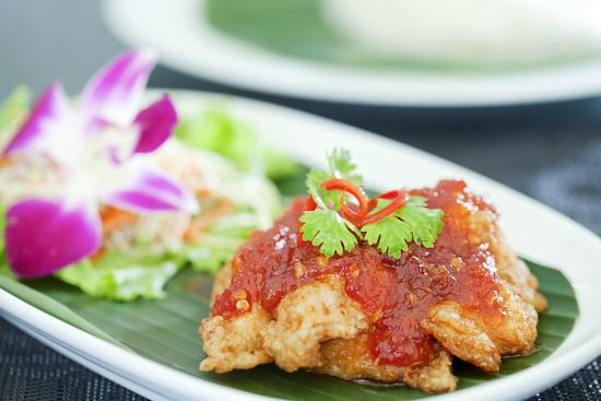 The Bubble: Fish fillet in sweet chili paste