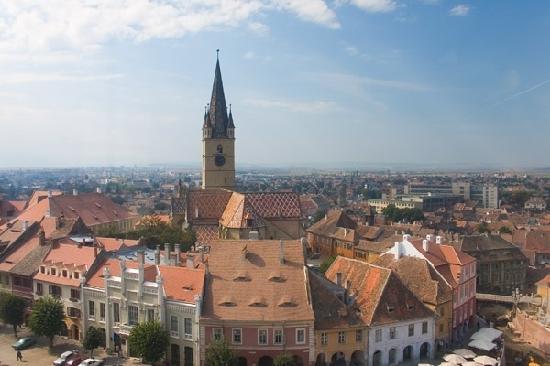 Medieval city of Sibiu