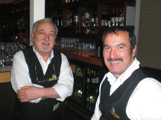 Gambero Rosso: The friendly waiters