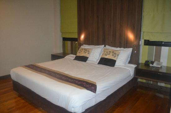D Varee Diva Bally Silom, Bangkok: comfy bed