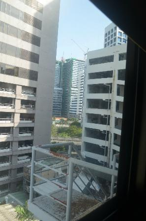 D Varee Diva Bally Silom, Bangkok: view from my room 803