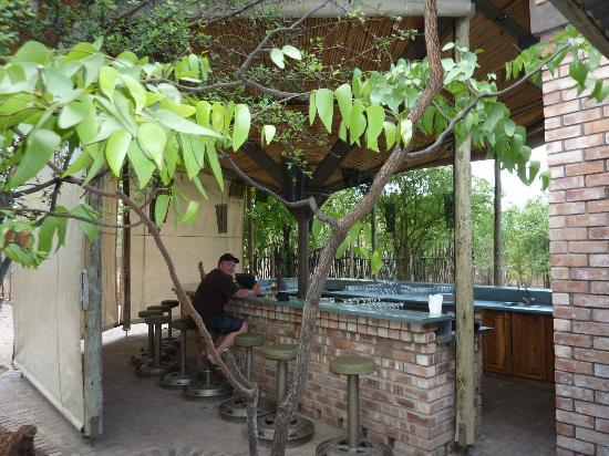 Etosha Village: The bar