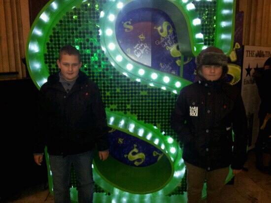 Shrek the Musical: Nathan & harry 3-11-12