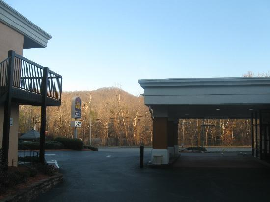 BEST WESTERN Asheville Tunnel Road: Great views