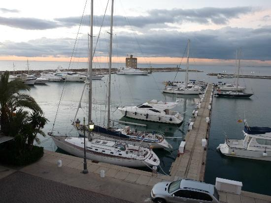Club Maritimo de Sotogrande: view from balcony