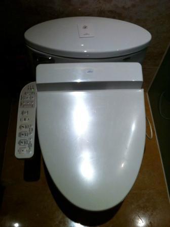 Fairmont Beijing High Tech Toilette Very Impressive