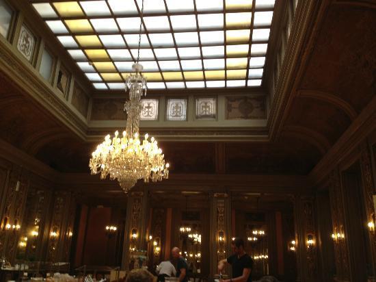 Grand Hotel et Des Palmes: speisesaal